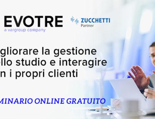 """Webinar """"Migliorare la gestione dello studio e interagire con i propri clienti"""""""