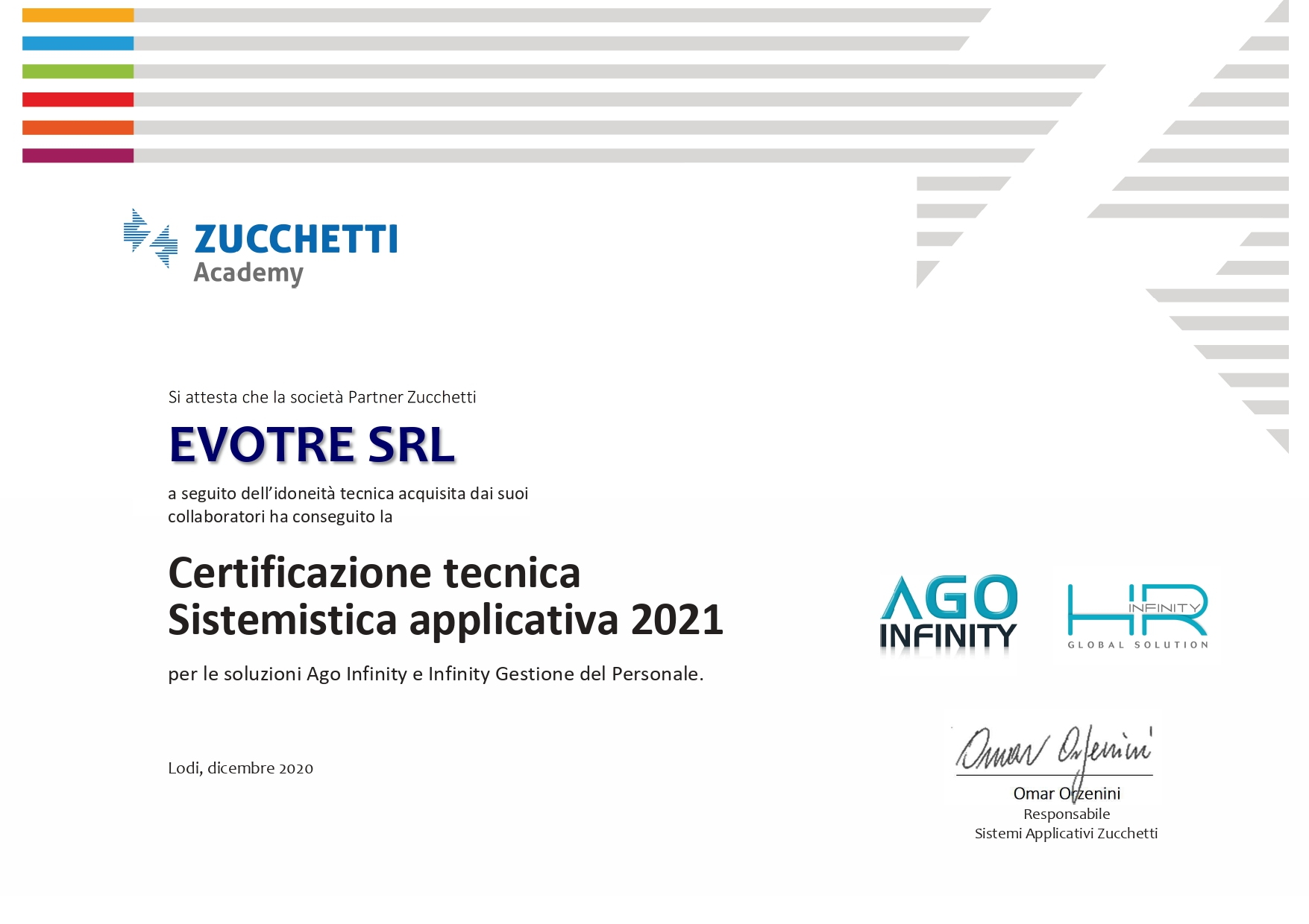 Ago Infinity HR Gestione Personale
