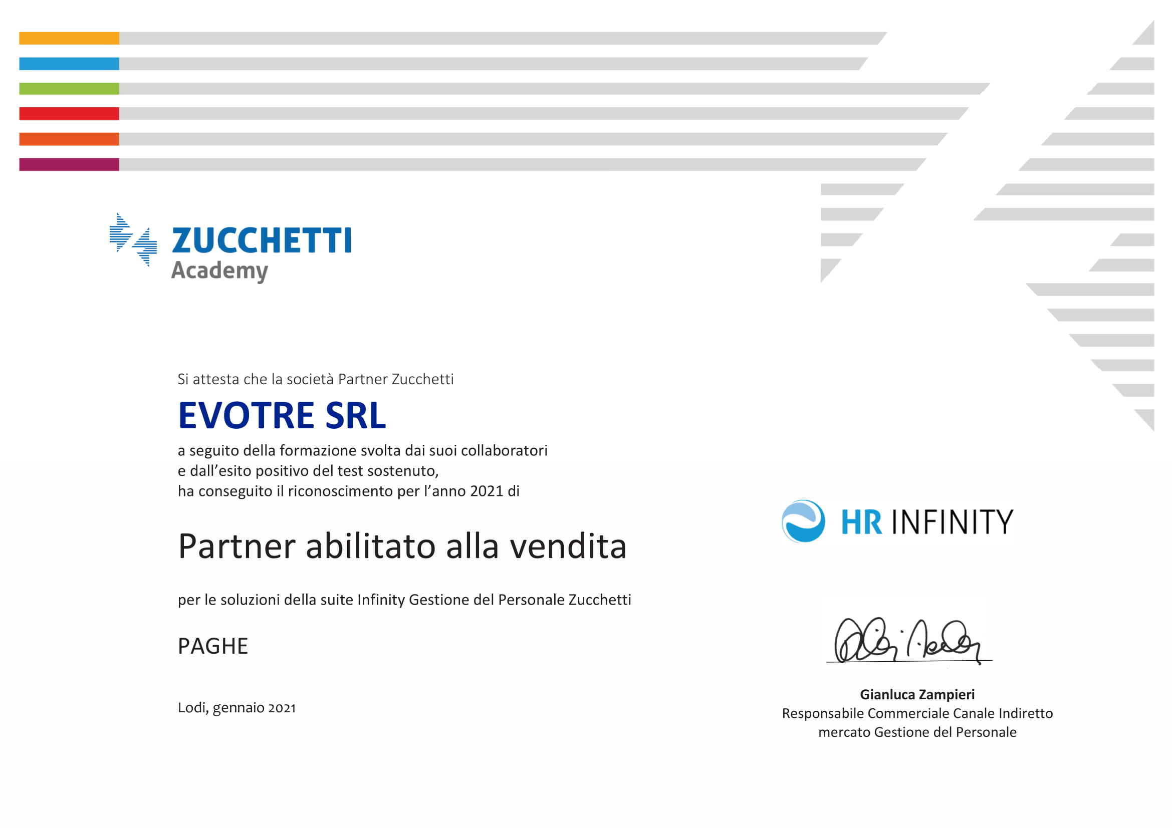 HR Infinity Paghe